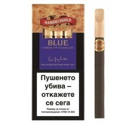 Tigari de foi Handelsgold Wood Tip Blue 5