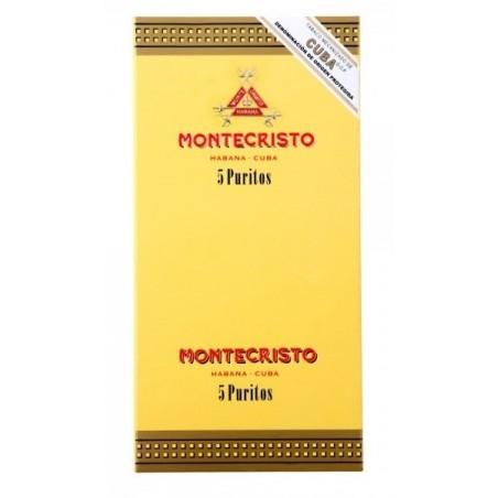 Tigari de foi Montecristo Puritos 5 cigarillos