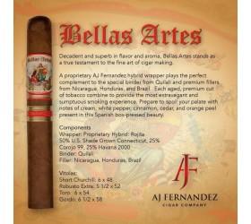 Trabucuri AJ Fernandez Bellas Artes Hybrid Toro 20