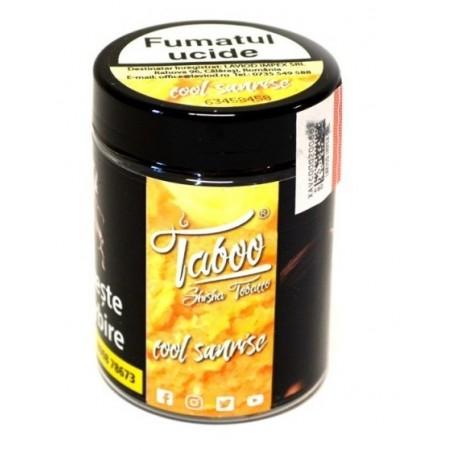 Tutun de narghilea Cool Sunrise Piersica Taboo 50g