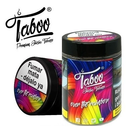 Tutun de narghilea Taboo Over The Rainbow Pere si menta 50g