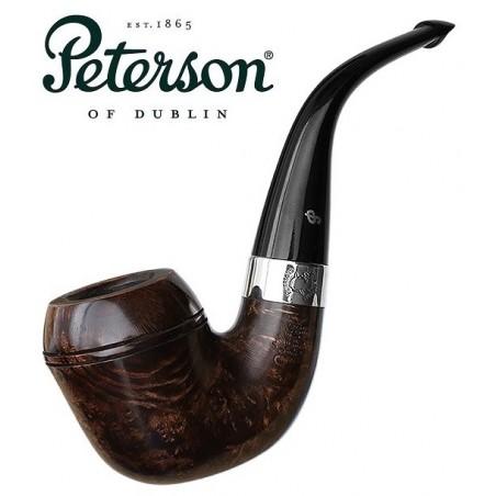 Pipa Peterson Sherlock Holmes Dark Smooth Watson P-Lip 9mm
