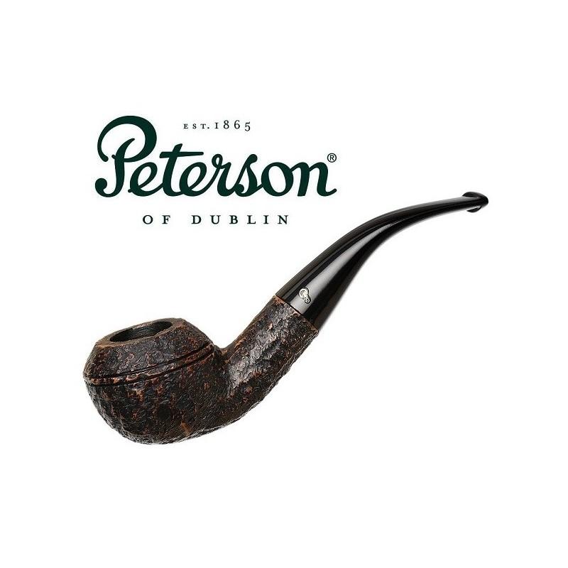 Pipa Peterson Aran Rusticated 999 Fishtail 9mm