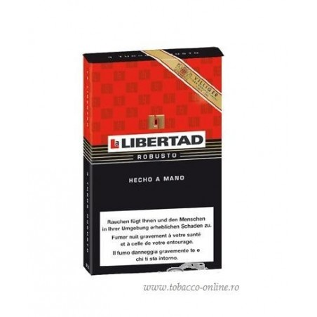 Trabucuri Villiger La Libertad Robusto 3
