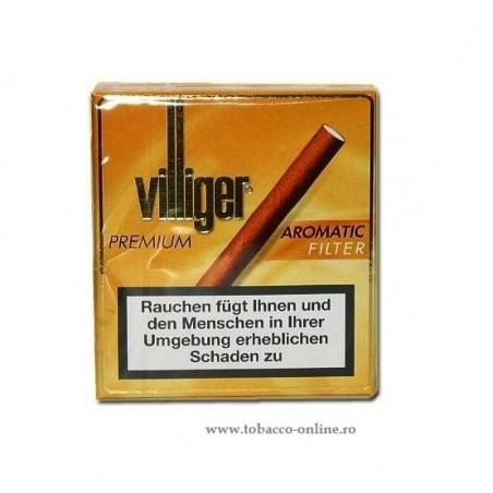 Tigari de foi  Villiger Premium No.10 Aromatic filter