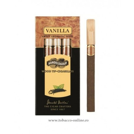Tigari de foi Handelsgold Vanilla Wood Tip