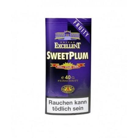 Tutun pentru rulat tigari Excellent Sweet Plum 35 g
