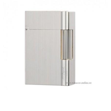 Bricheta S.T. Dupont Gatsby Silver Vertical Lines