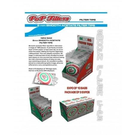 Filtre tigari Pop Filters Slim 120