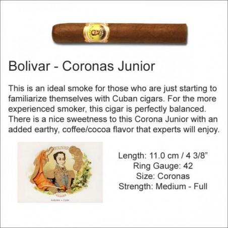Trabucuri Bolivar Coronas Junior 25