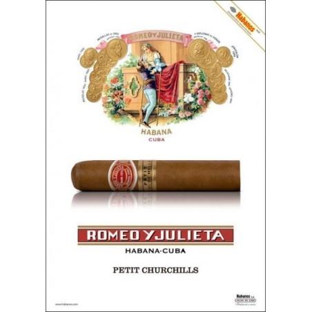 Trabucuri Romeo y Julieta Petit Churchills 25