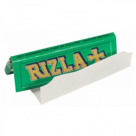 Foite rulat tigari Rizla Green 70 mm