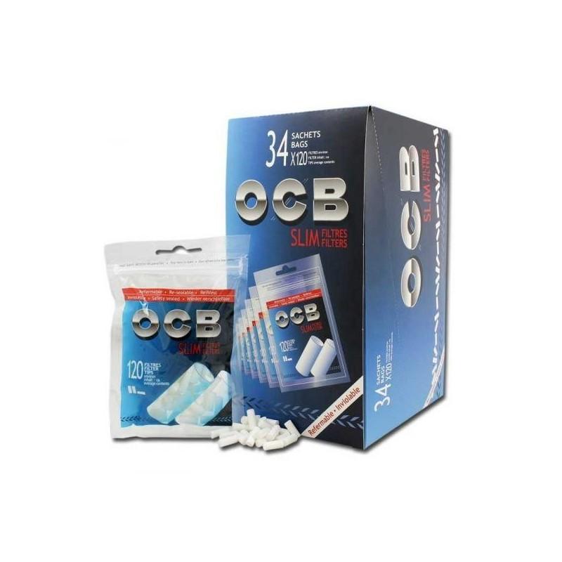 Filtre tigari OCB Slim 34