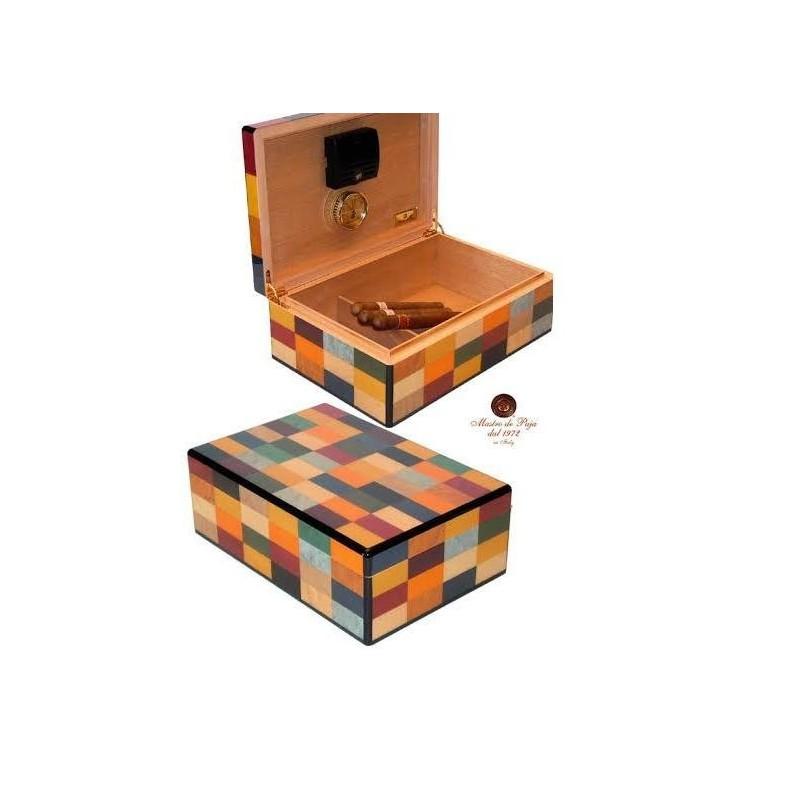 Umidor trabucuri Mastro de Paja Luxury Harlequin 50