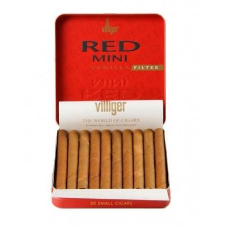 Tigari de foi Villiger Red Mini Vanilla Filter 20
