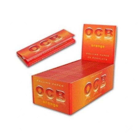 Foite de rulat OCB Orange 50 pachete