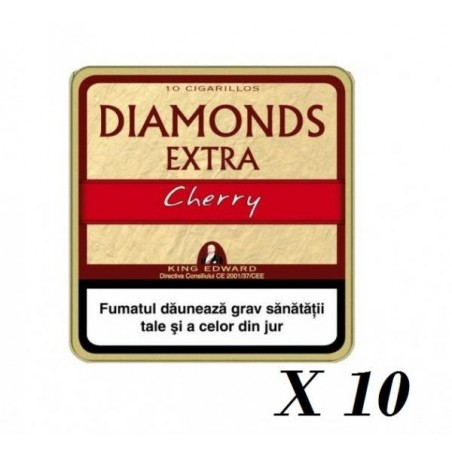 Tigari de foi King Edward Diamonds Cherry 100