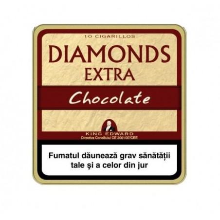 Tigari de foi King Edward Diamonds Chocolate 10