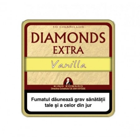 Tigari de foi King Edward Diamonds Vanilla 10