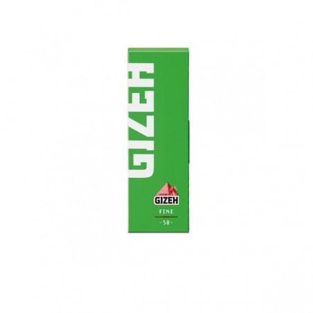 Foite rulat tutun Gizeh Green Fine