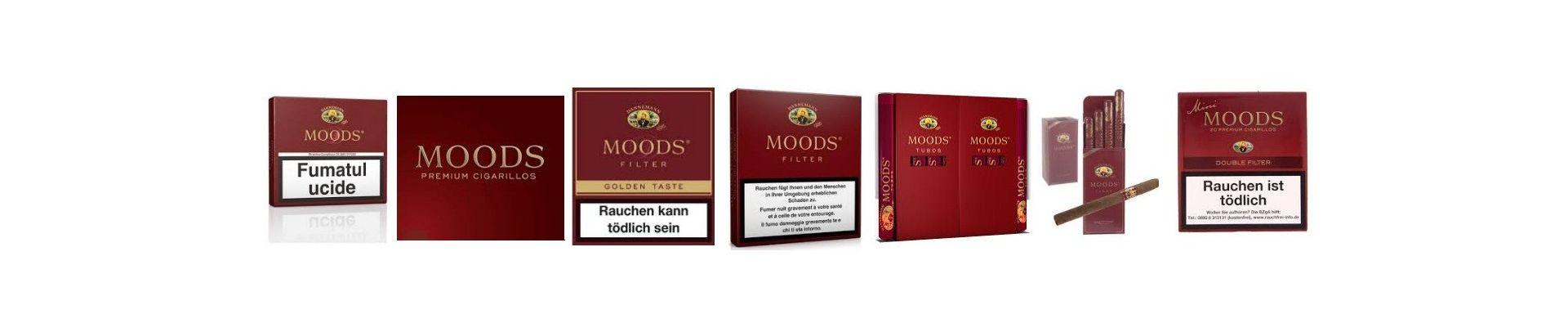 Tigari de foi Dannemann Moods.Magazin tigari de foi Dannemann Moods la cele mai bune preturi