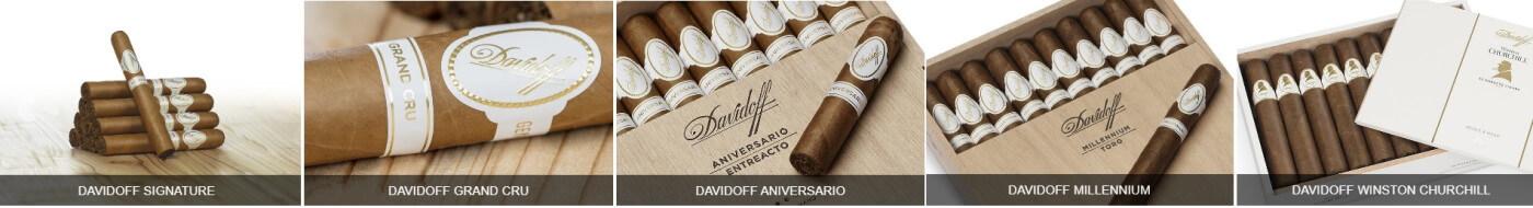 Selectie din cele mai delicioase trabucuri Davidoff